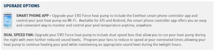 force heater upgrade options