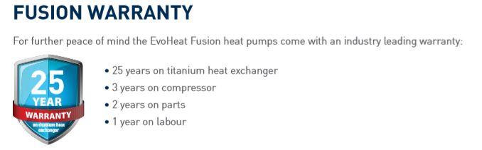 fusion warranty